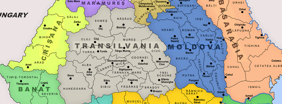 Moldavie et la Région de Bucovine